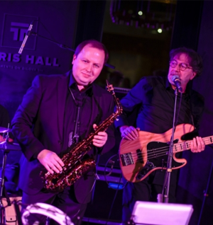 Jazz evening with Alexey Kogan in Tetris Hall